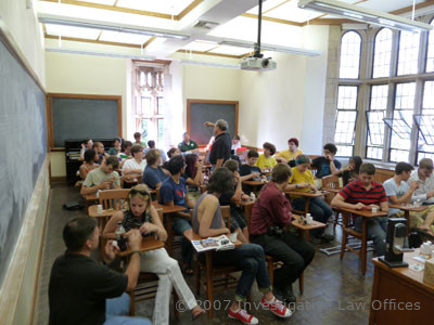 Yale Security Summit attendees