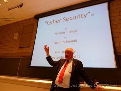William Tafoya, Retired FBI lectures